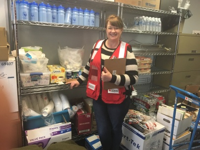 Julie Kent on Day one on-call with the Red Cross of Alaska Disaster Action Team.