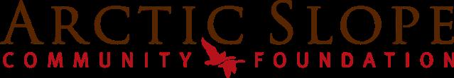 Arctic Slope Community Foundation Logo