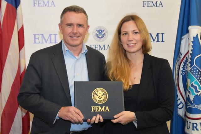 Celia Jackson - FEMA Graduation